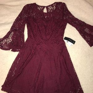 Brand New (with tags) bell sleeve lace dress